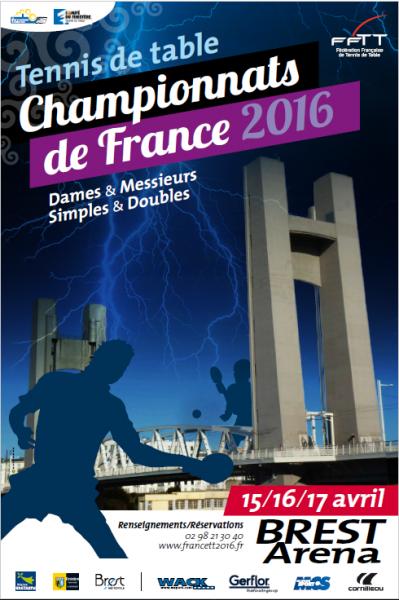 Ffmjs championnats de france senior de tennis de table - Ligue de bretagne de tennis de table ...